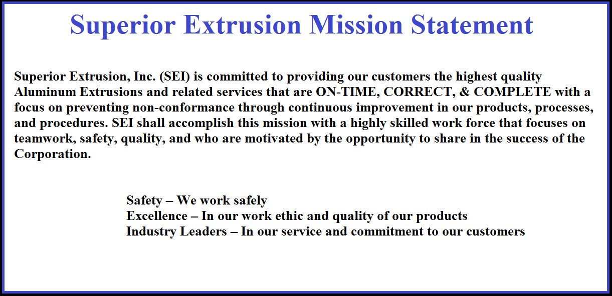 SEI mission statement